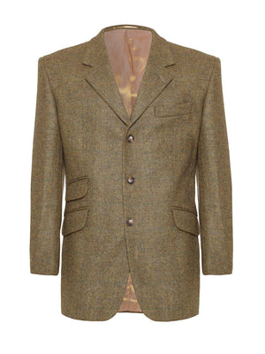 Action Back Gamekeepers Jacket - Wensleydale Tweed