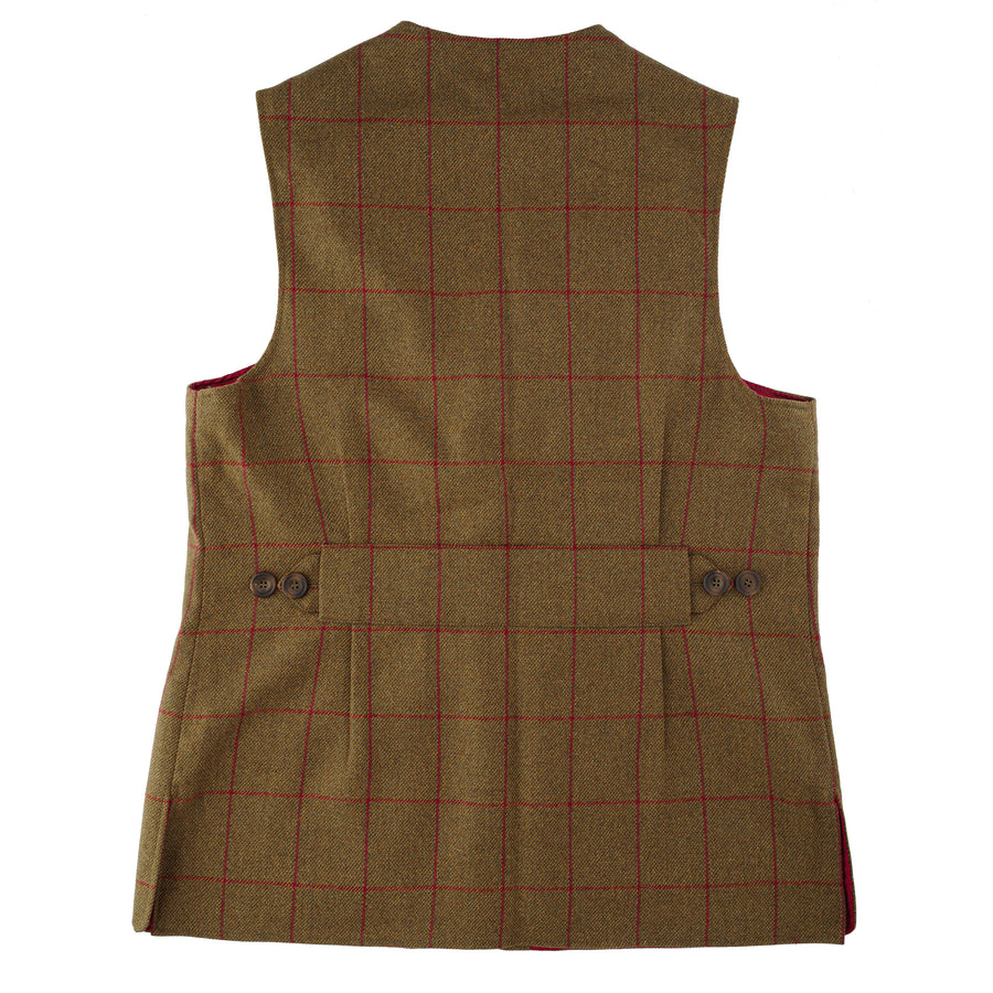 Luxury Alcantara Shooting Vest - Nidderdale Tweed