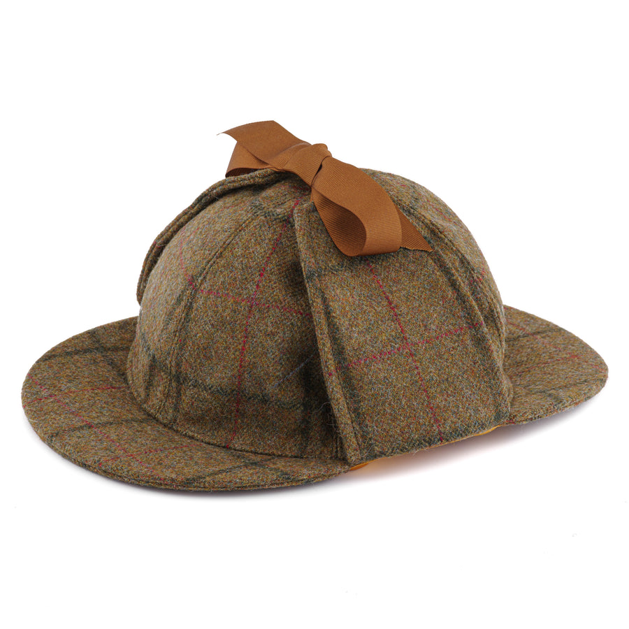 COVERDALE TWEED SHERLOCK HAT WITH EAR FLAPS