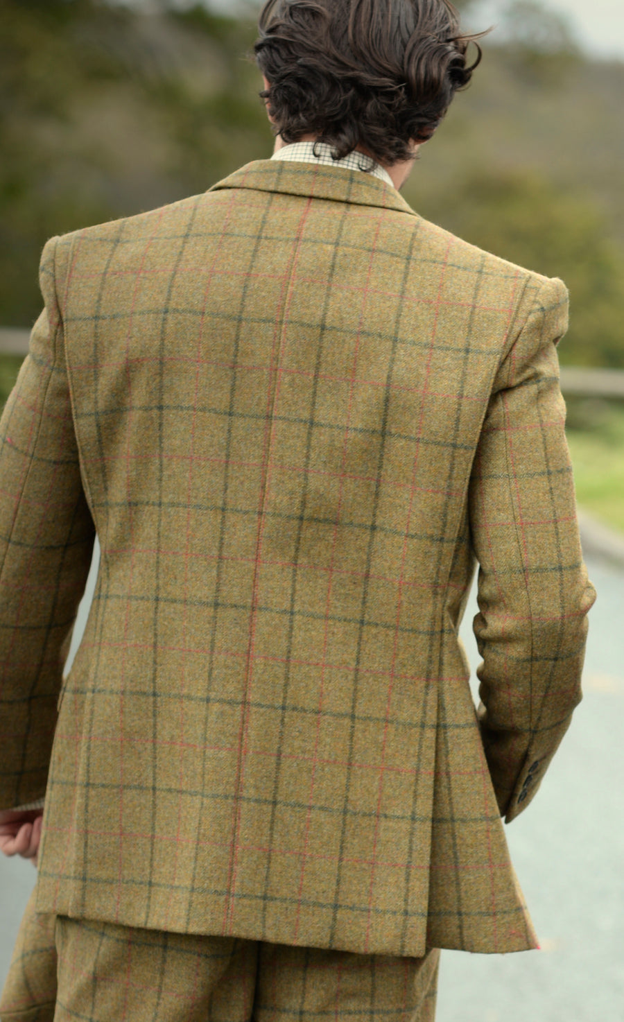 Action Back Gamekeepers Jacket - Coverdale Tweed