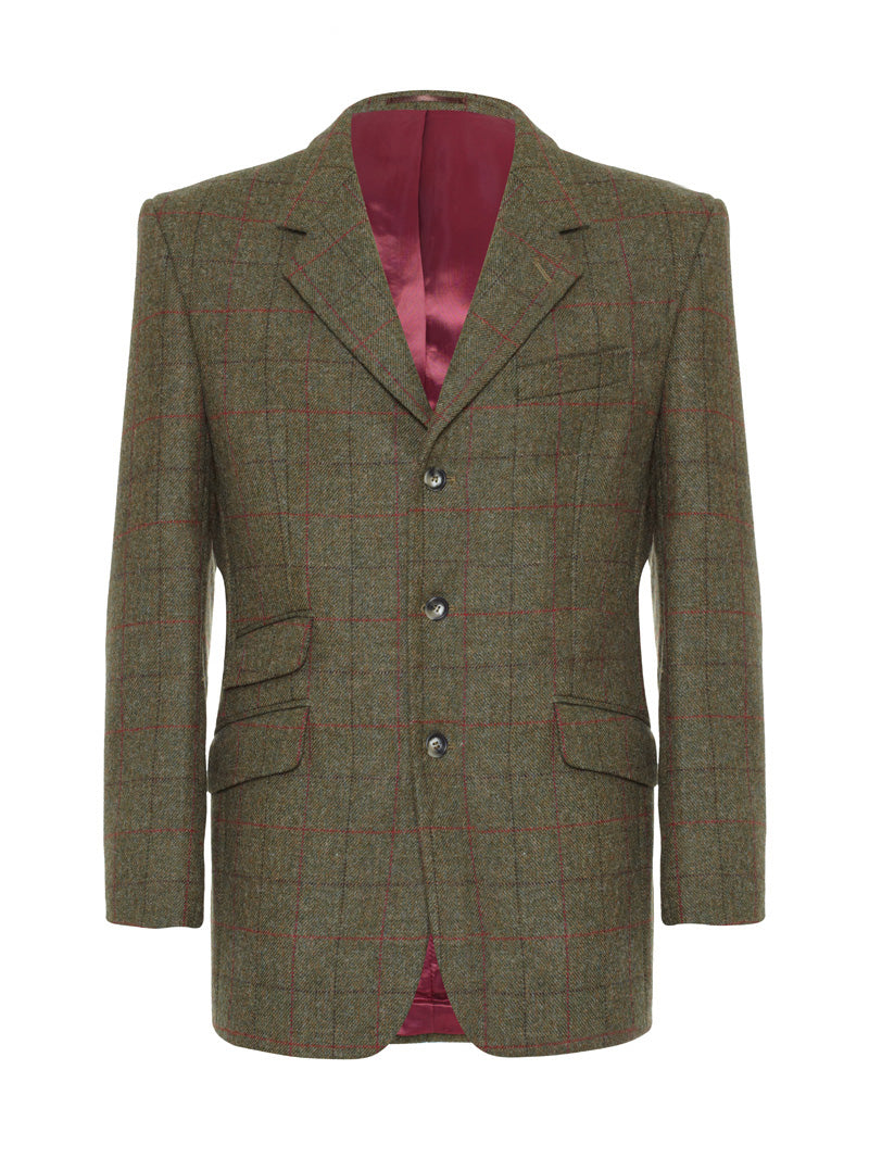 Action Back Gamekeepers Jacket - Garsdale Tweed