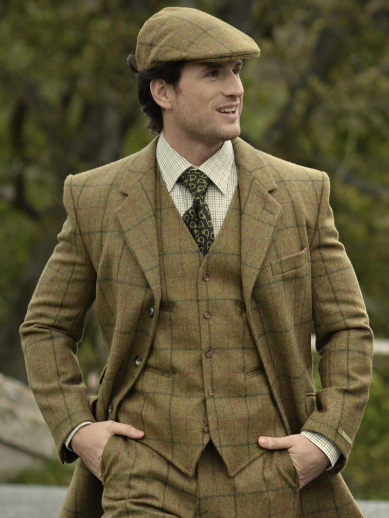 Coverdale Hand Tailored Tweed Waistcoat