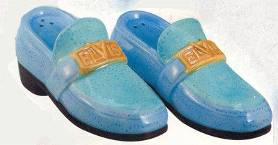 Elvis Presley Blue Suede Shoes S/P Set