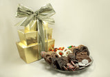 3 Tier Tower Milk & Dark Gourment Chocolate Mixed Package (A)