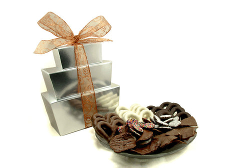 3 Tier Tower Milk & Dark Chocolate Package (B)