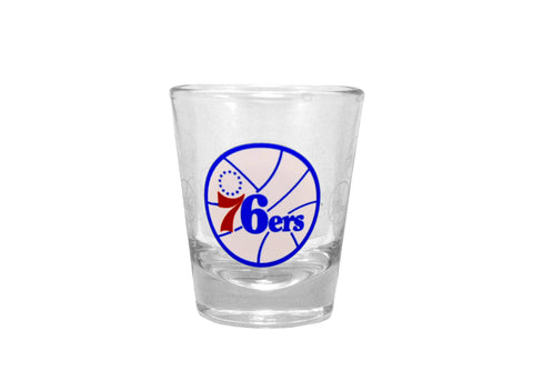 Philadelphia 76er's Shot Glass