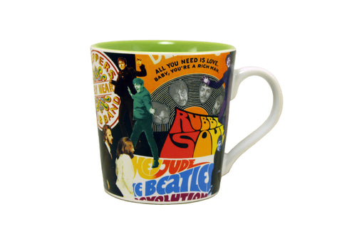 The Beatles Collage 12 oz Mug