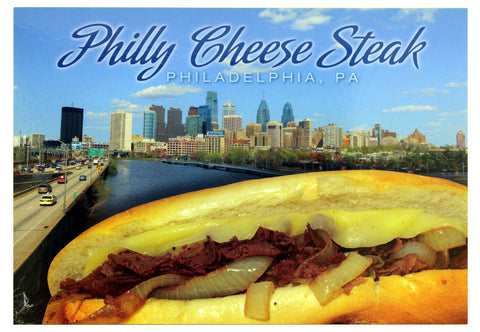 Philly Cheese Steak Postcard