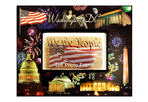 Washington D.C. Fireworks Picture Frame