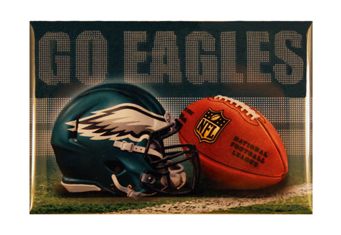 "Philadelphia Eagles ""Go Eagles"" Magnet"
