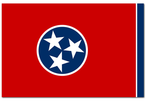 "Tennessee State  4"" x 6"" Flag"