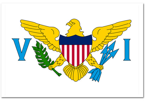 "United States Virgin Islands 4"" x 6"" Flag"