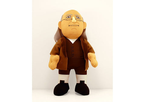 Benjamin Franklin Plush Figure