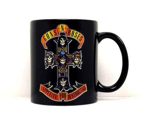 Guns N Roses Appetite For Destruction 12 oz Mug