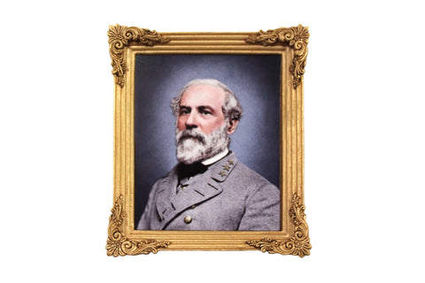 Robert E. Lee Framed Portrait Magent