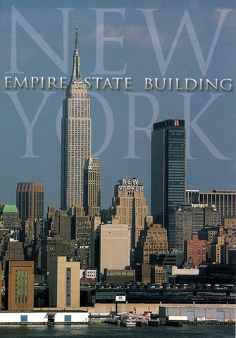 Greetings from the Empire State Building New York Postcard