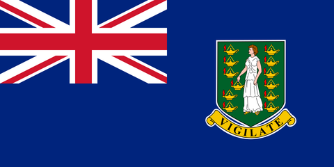 "British Virgin Islands 4"" x 6"" Flag"