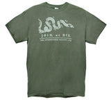 """Join or Die"" Pennsylvania Gazette t-shirt"