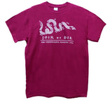 """Join or Die"" Pennsylvania Gazette 1754 T-shirt"