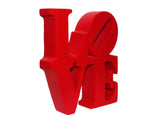 "Philadelphia LOVE Park Sculpture Resin 5.25"" x 1.25"" x 6"" H"