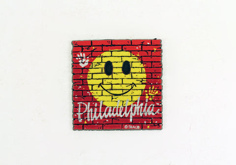 Philadelphia Smiley Face Graffiti Magnet
