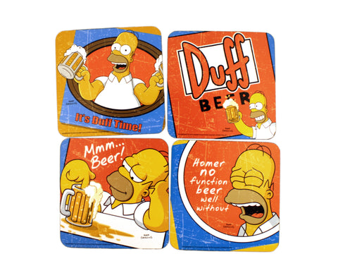 The Simpsons Coasters set of 4
