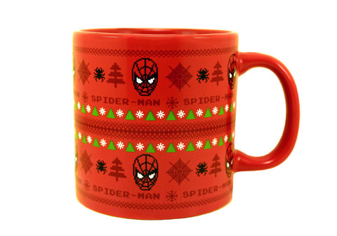Spiderman Ugly Sweater 20 oz Mug