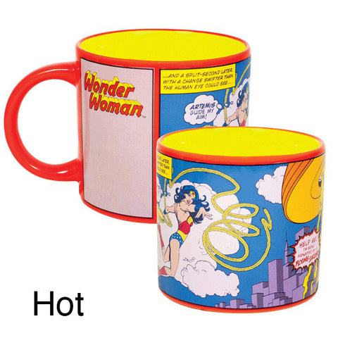 Wonder Woman Transforming 15 oz Mug