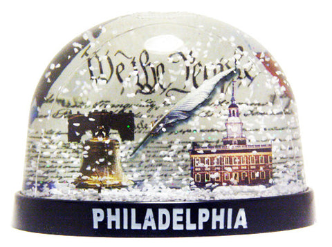 We the People Snow Globe
