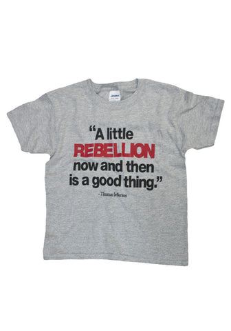 A Little Rebellion Youth Shirt ( 2 colors )