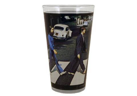 The Beatles Abbey Road 16 oz Glass