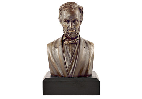 "Abraham Lincoln 6"" Bust (Bronze Finished)"