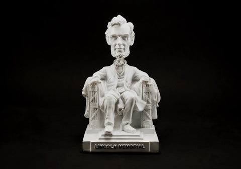 Abraham Lincoln Memorial Statue Bobble Head