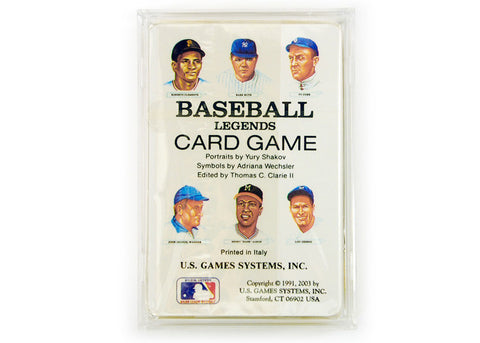 Baseball Legends Playing Cards