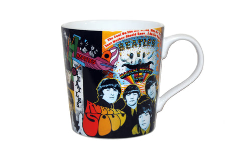 The Beatles Album Collage 12 oz Mug