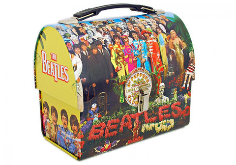 The Beatles Sgt. Pepper's Dome Tin Tote
