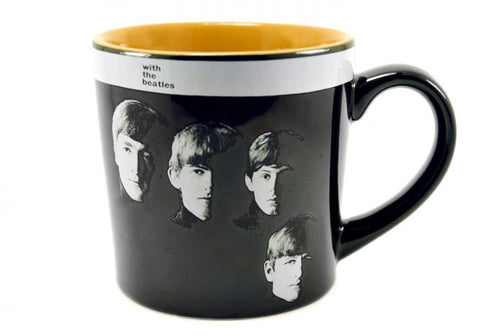 The Beatles With the Beatles Album Cover 12 oz Mug