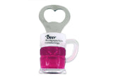 "Beer Quote ""Beer is Proof...""  Beer Mug Bottle Opener Magnet"