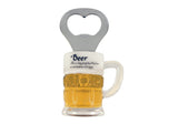 "Beer Mug ""Beer is Proof..""  Bottle Opener Magnet"