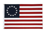 Betsy Ross 2' x 3' Embroidered Cotton Flag
