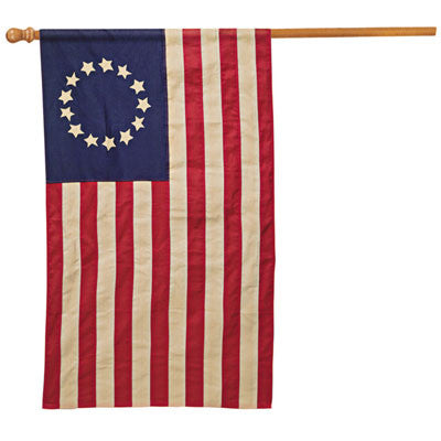 Betsy Ross Vintage Banner 2.5' x 4'