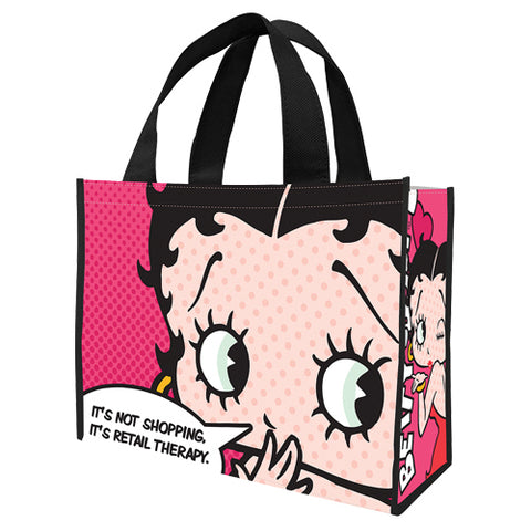 Betty Boop Large Recycled Shopper Tote