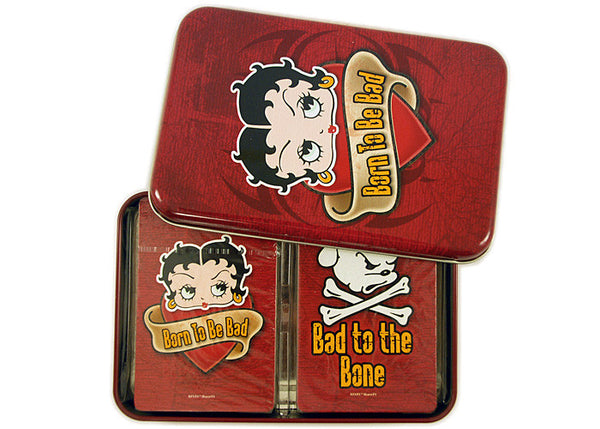 Betty Boop Born to be Bad Playing Card Set