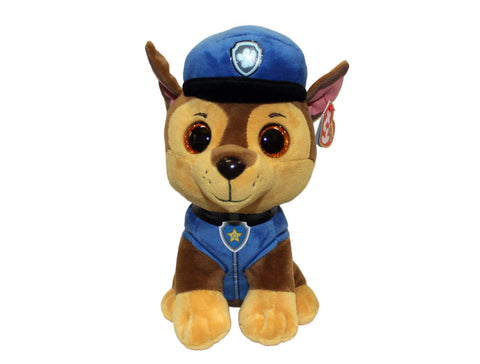 Paw Patrol Chase Ty Plush Toy (Big)