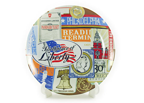 Vintage of Philadephia Plate