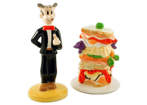 Blondie Dagwood Sandwich Salt & Pepper Set