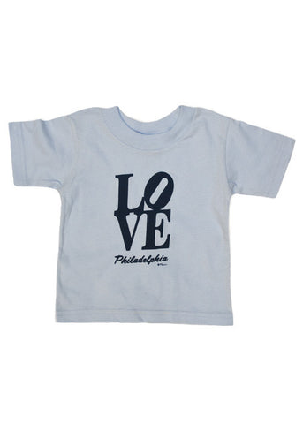 LOVE Philadelphia Toddler T-Shirt (2 Colors Available)