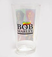 Bob Marley Drinking Glass