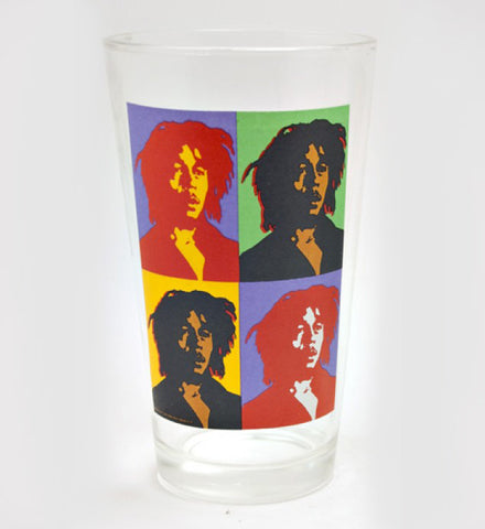 Bob Marley Pint Glass