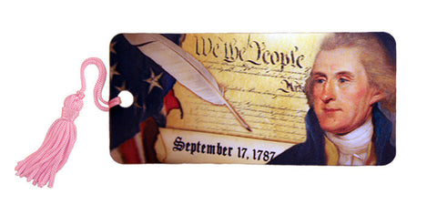 Jefferson & Constitution Lenticular Bookmark